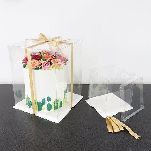 Crystal Cake box for 6'' cake