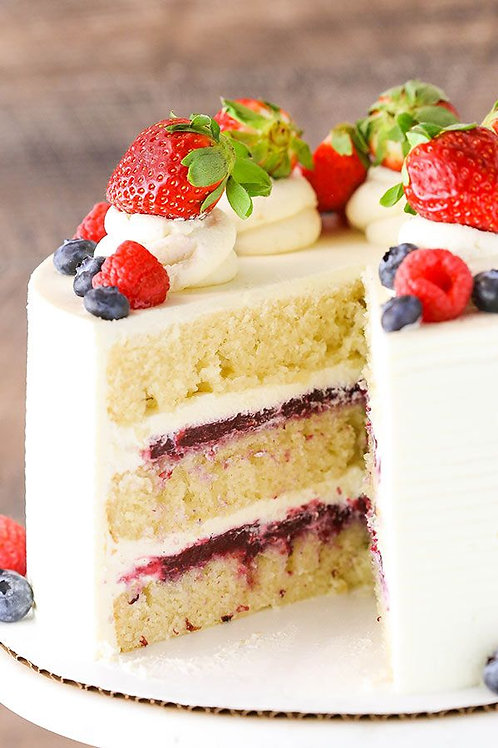 Berries Fruits of the Forest Cake 6'' 6-10ppl