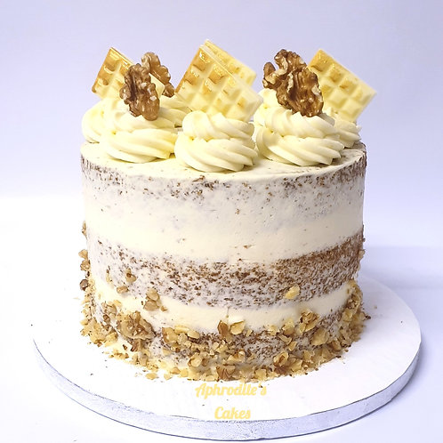 Deluxe Carrot Cake White Chocolate Cake 6'' 6-14portions
