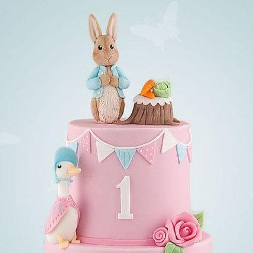Peter Rabbit Jemima Puddle Duck Kids Cake 6'' 6-14portions