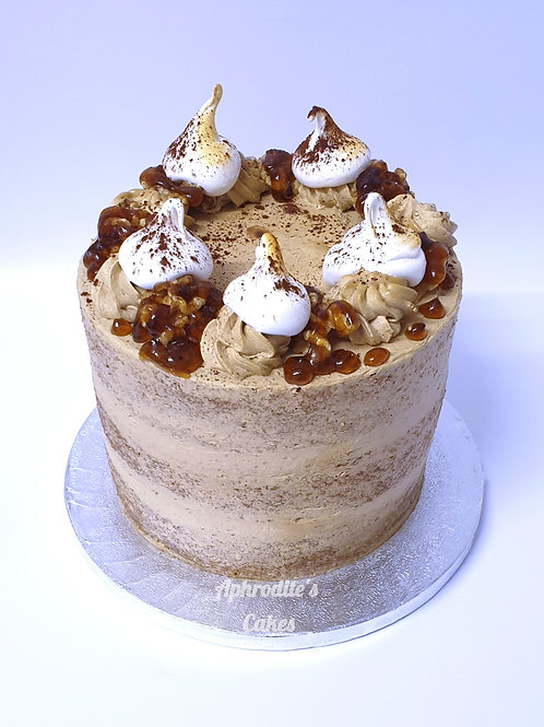 Walnut Semi-Naked Coffee Cake 6'' 6-10ppl