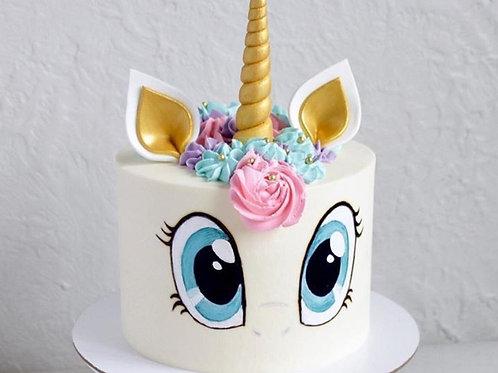 Unicorn Rainbow/Harry Potter Cake