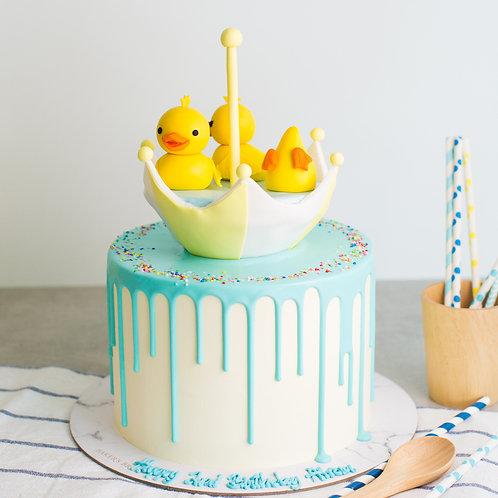 Baby Duck Cake  6'' 6-12 ppl