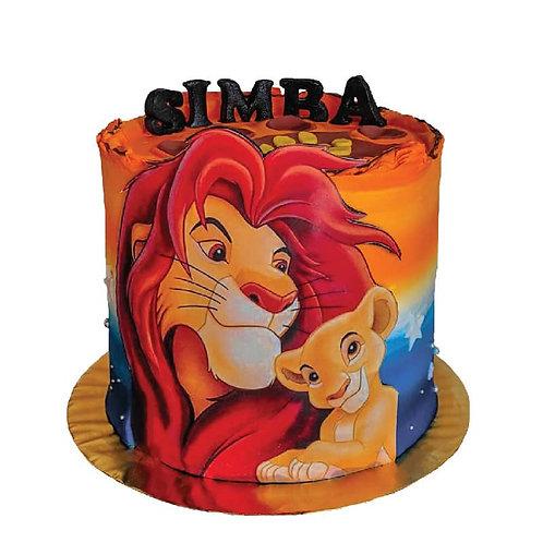 Lion King Simba Jungle Safari Celebration Cake