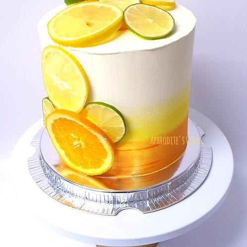 Gin & Tonic Cocktail Cake