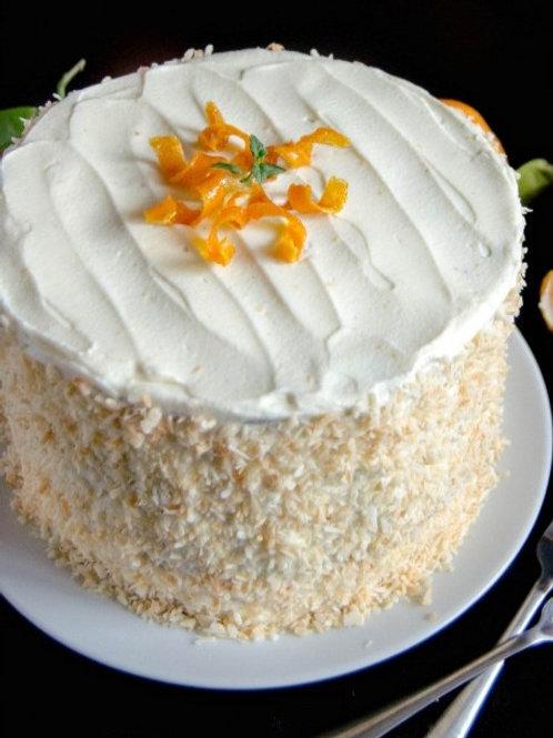 Diabetic Sugar-Free  Carrot Cake  6'' 6-14portions