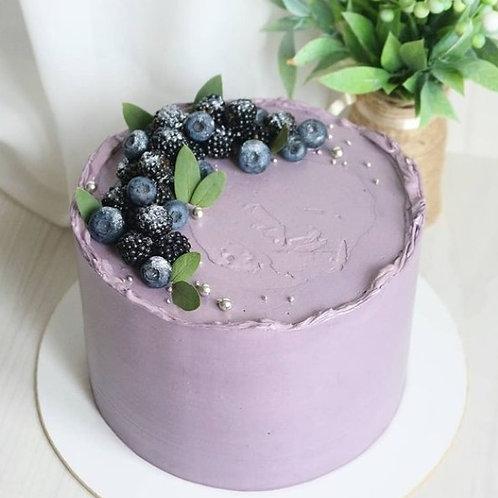 Lemon Blueberry Cake 6'' 6-14portions