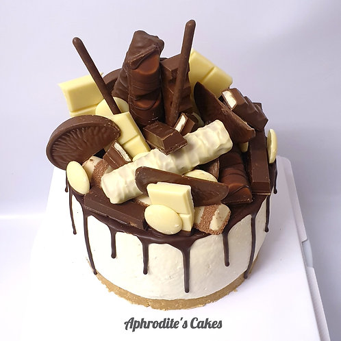 Classic Vanilla Cheesecake Fully loaded-different toppings 6''6-12portions