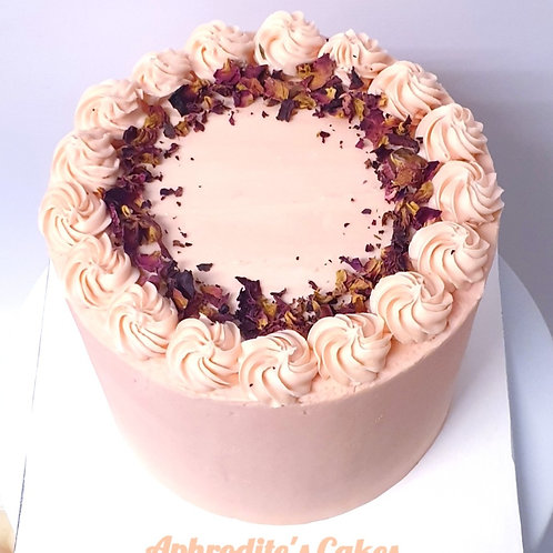 Lychee Rose/Pistachio Cake 6'' 6-14portions
