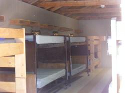 Inside men's cabin