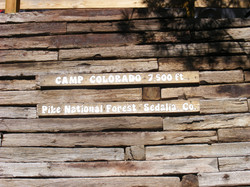 Retaining Wall Sign