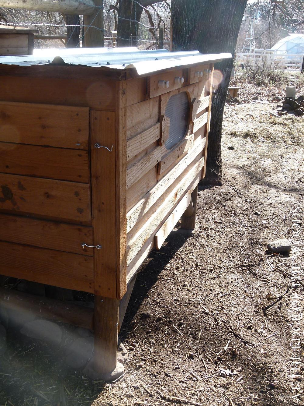 the second chicken coop