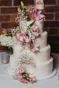 Wedding Cake by Incredible Edibles Virginia Beach