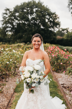 Beautiful Bride at the Norfolk Botanical Garden