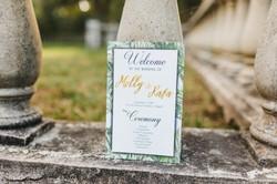 Garden Themed Wedding Invitation