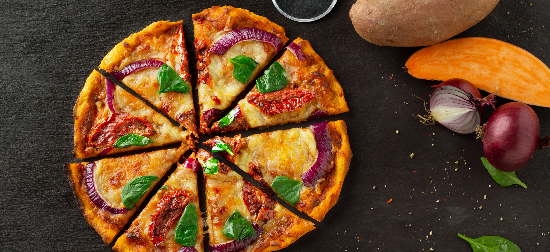 Sundried Tomato, Red Onion & Spinach