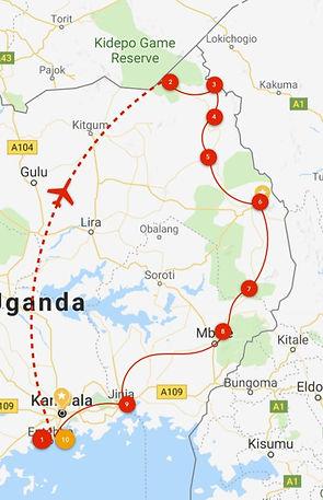 Map Uganda Akiiki trip.JPG