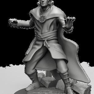 Estatua do Super Pause