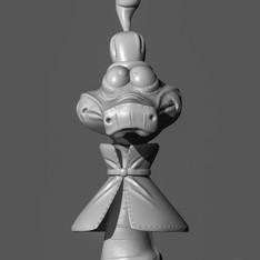 Chio do Robin Wood Personagem para impressão 3d.