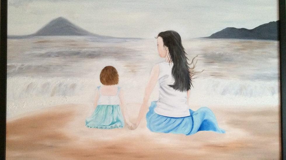 Lien énergétique entre la mère et son enfant