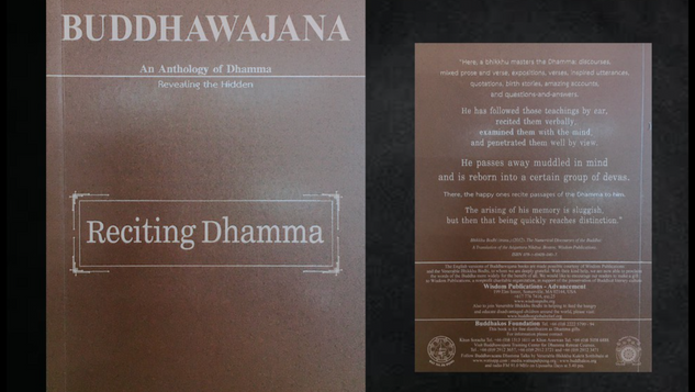 Buddhawajana Book Series - Reciting Dhamma - Volume 10