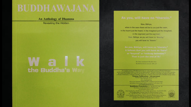 Buddhawajana Book Series - Walk The Buddha's Way - Volume 3