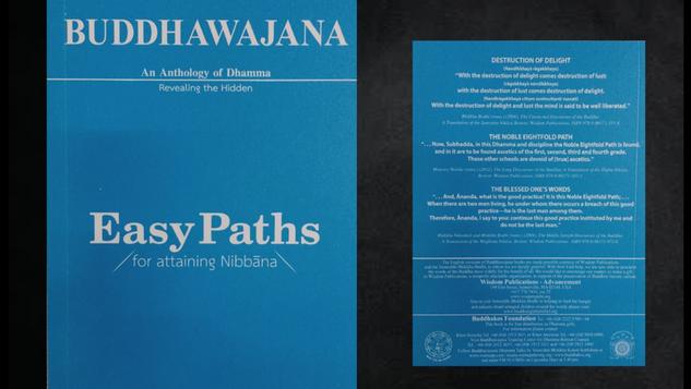 Buddhawajana Book Series - Easy Paths for Attaining Nibbana - Volume 4