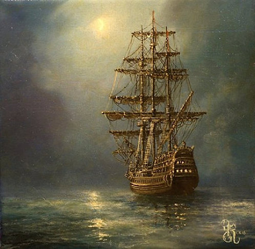 SHIP AT NIGHT