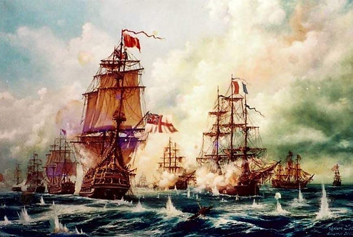 BATTLE OF TRAFALGAR 1
