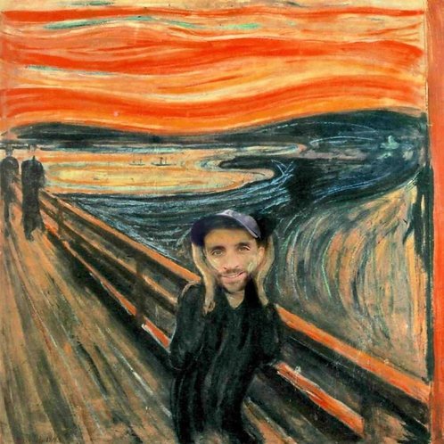 Scream - digital portrait