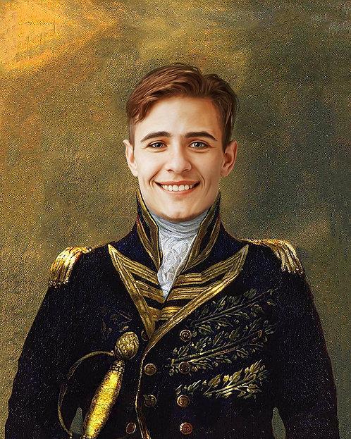 Kongelig portrett for ham