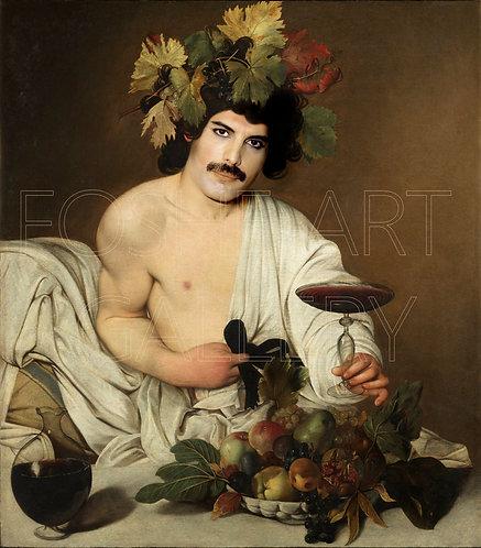Freddie som Bacchus