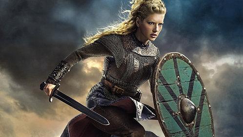 Personlig Viking portrett for henne