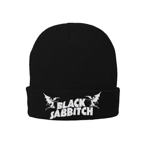Black Sabbitch Logo Beanie