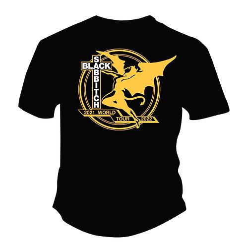 Black Sabbitch World Tour T-Shirt