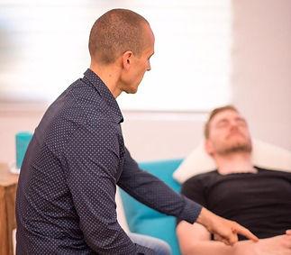 Hypnosetherapie mit einem Klienten