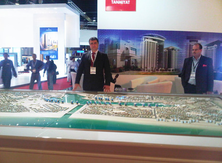 City scape Dubai (2010) Ribat Albahr new town presentation.