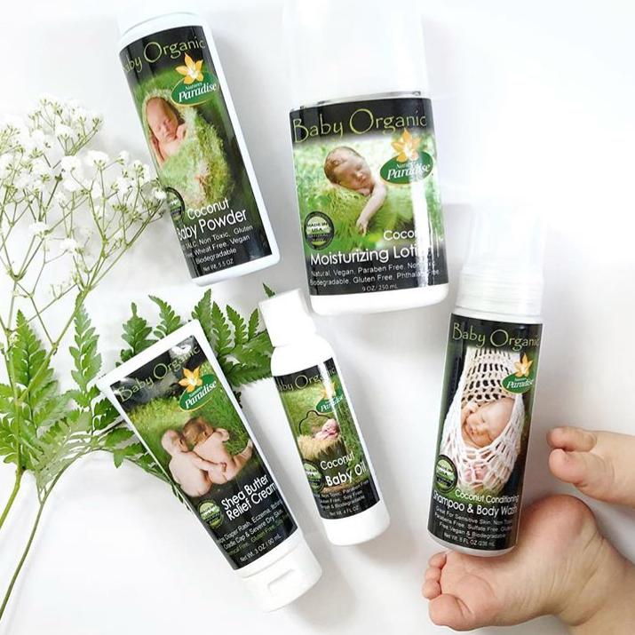 Gluten Free, Vegan, Organic Baby , Skin care for babies