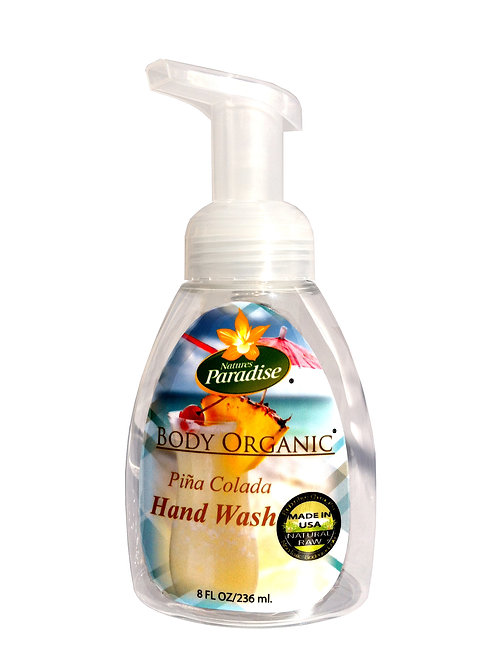 Organic Pina Colada Hand Wash 8oz