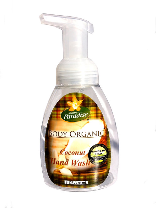Organic Coconut Foaming Hand Wash 8oz