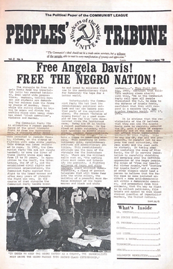 Free Angela People's Tribune