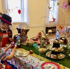 Enjoy a Mad Hatter's Tea Party