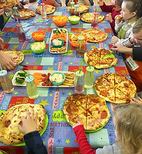 Pizza party in your own home