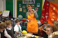 Primary School cooking workshop