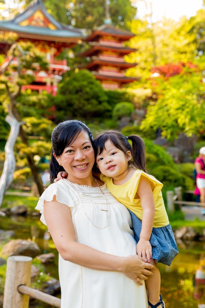 Family Photos San Francisco Japanese Tea Gardens