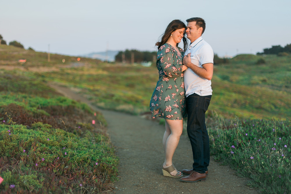 Marin Headlands Engagement Photos