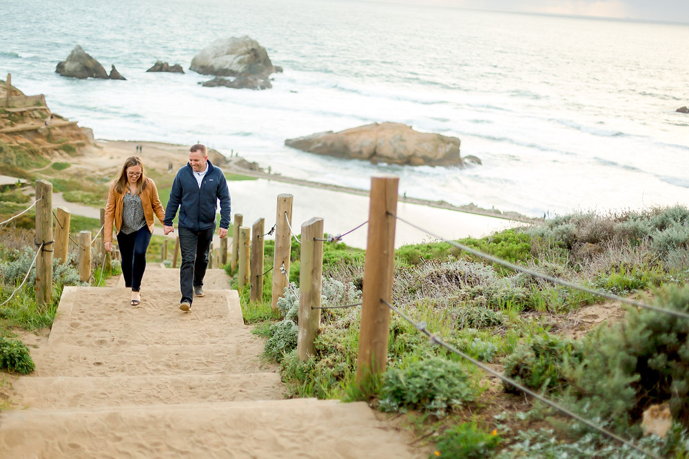 Sutro Baths Engagement Photos | Photography by Vee