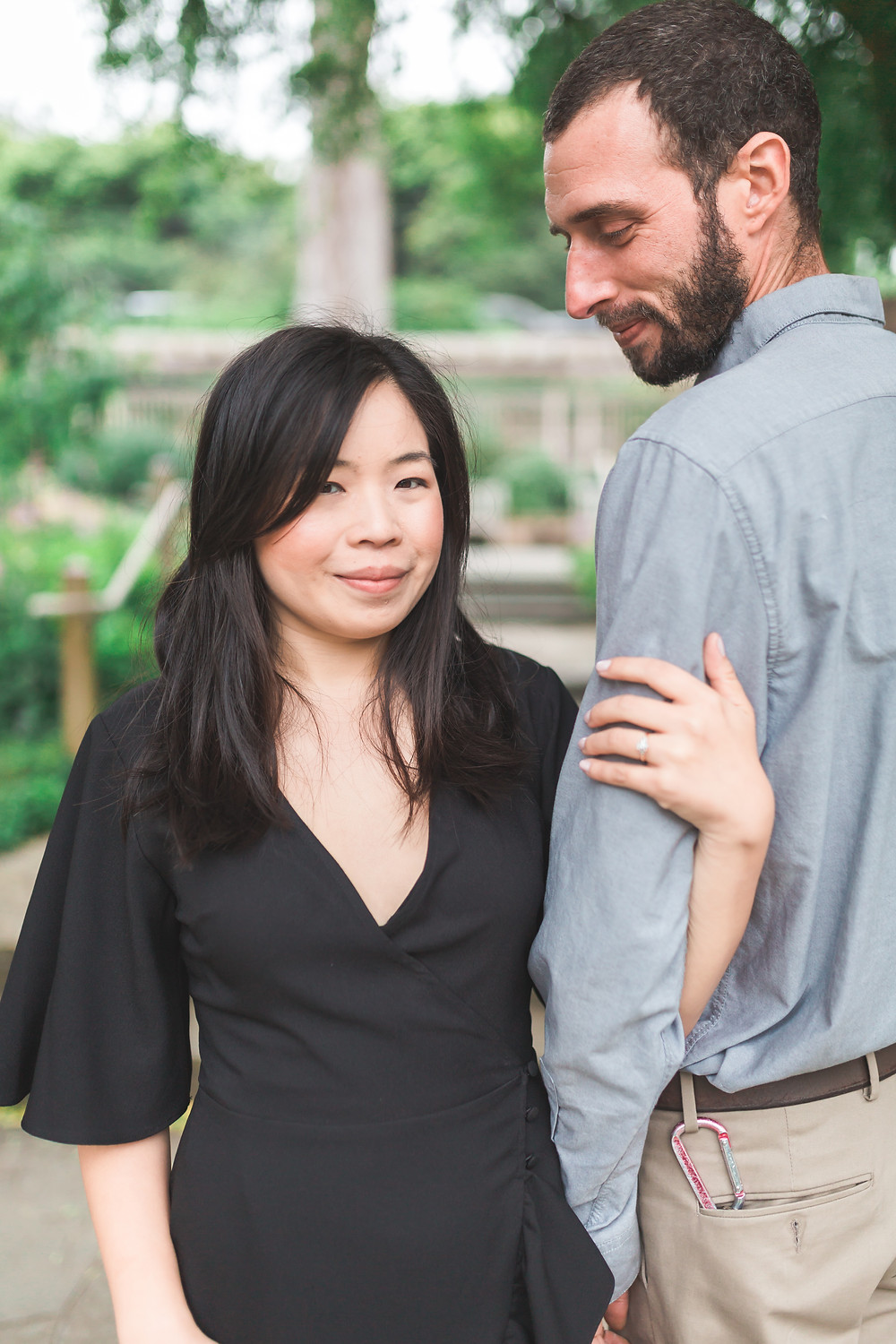SF Botanical Gardens - Engagement Session