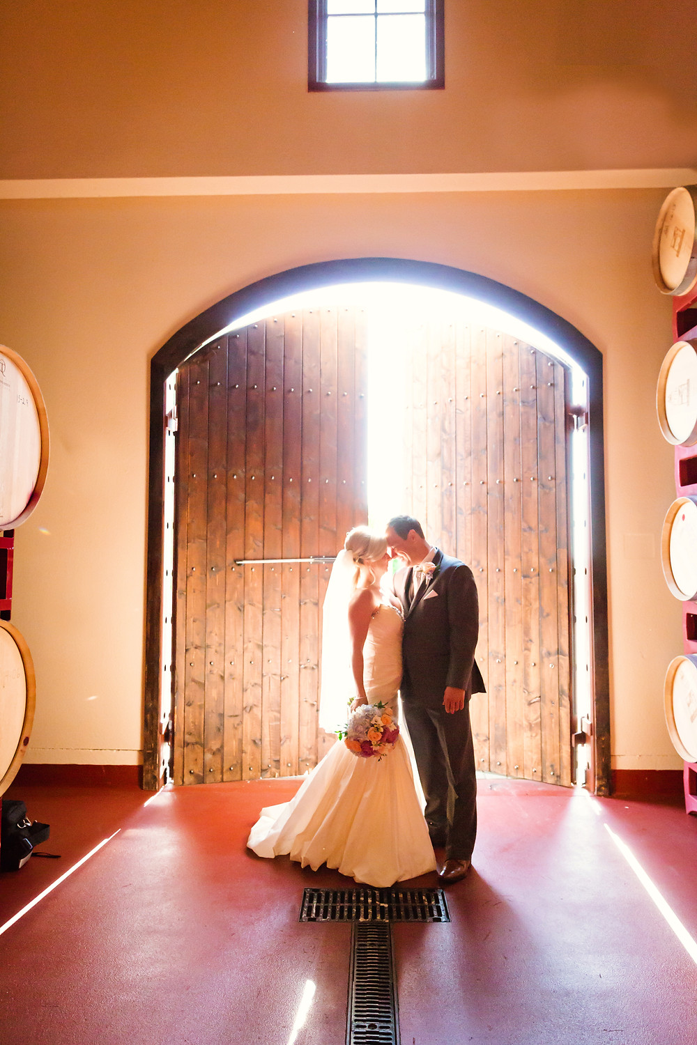 Las Positas Winery Wedding. Bay Area Wedding Photography