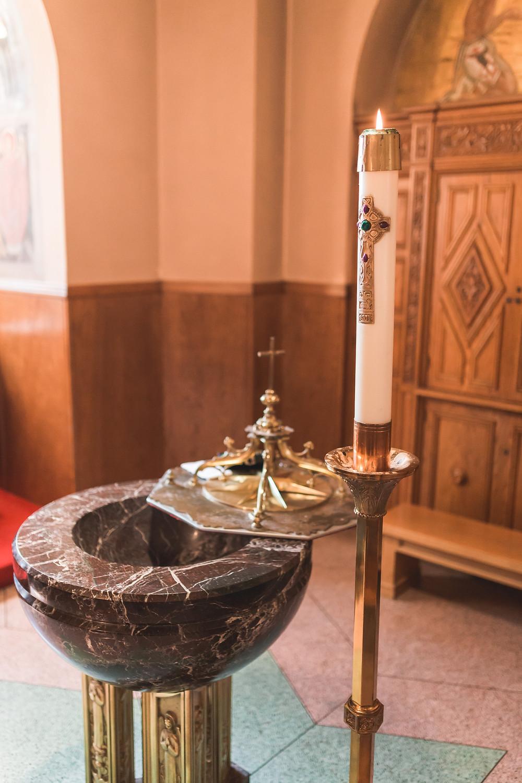 St. Cecilia's Baptism